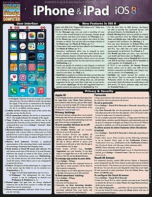 BarCharts, Inc. QuickStudy® iPhone & Office Reference Set (9781423231455)