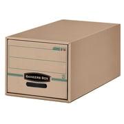 Fellowes® - Boîtes de rangement Bankers Box recyclées, format légal
