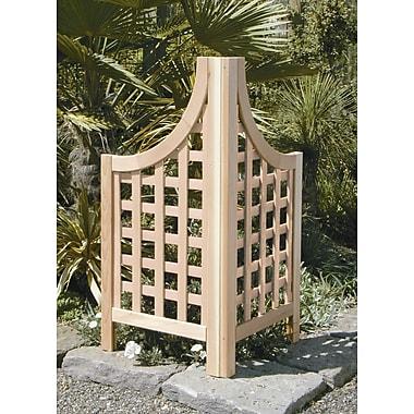 Buyers Choice 2 Piece Phat Tommy Andover Wood Lattice Panel Trellis