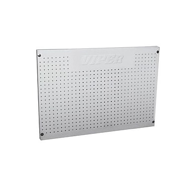 Viper Tool Storage Stainless Steel Peg Board; 24'' x 36''