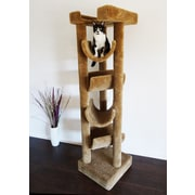 New Cat Condos 72'' Premier Cat Tree; Brown
