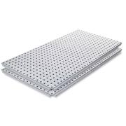 Alligator Board Stainless Steel Panel w/ Flange