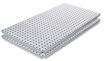 Alligator Board Stainless Steel Panel w/ Flange