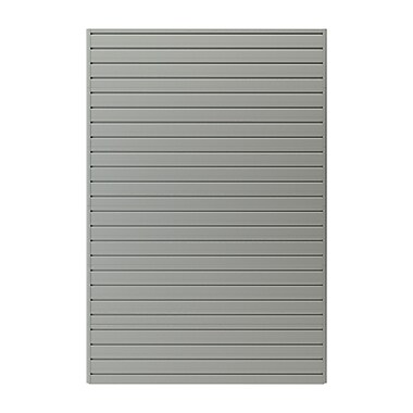 Flow Wall 24 Square Ft. 72''H x 48''W Panel Pack; Silver