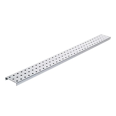 Alligator Board Galvanized Steel Pegboard Strip w/ Flange