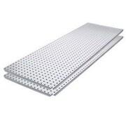 Alligator Board Metal Pegboard Panel w/ Flange (Set of 2)