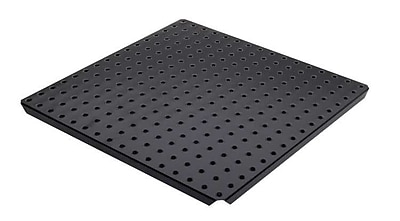 Alligator Board Metal Pegboard Panels w/ Flange in Black