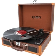 ION Vinyl Motion Deluxe Portable Turntable with Case (IONIT45DXC)