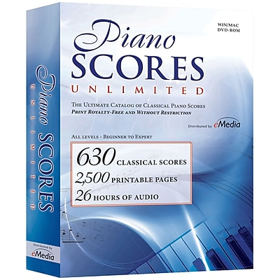 IPE Piano Scores Unlimited Software for Windows/Mac