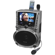 "Karaoke USA DVD/CD+G/MP3+G Karaoke System with 7"" TFT Color Screen and Record Function (JSKGF757)"