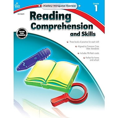 Carson-Dellosa Reading Comprehension and Skills Workbook, Grade 1 / Ages 6-7 (104619)