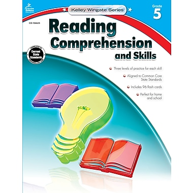 Carson-Dellosa Reading Comprehension and Skills Workbook, Grade 5 / Ages 10-11 (104623)