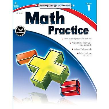 Carson-Dellosa Math Practice Workbook, Grade 1 (104626)