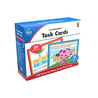 Carson Dellosa Task Cards Learning Cards (Grade 2)