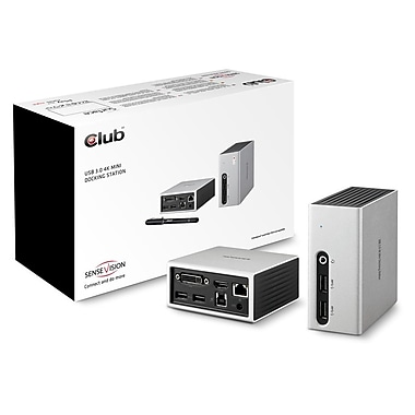 Club 3D USB 3.0 Docking Station to 4K 30Hz Mini