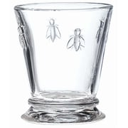 La Rochere Bee Glass Tumbler, 9.5 Oz, 6/Pack