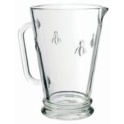 La Rochere Bee Glass Pitcher, 35 Oz