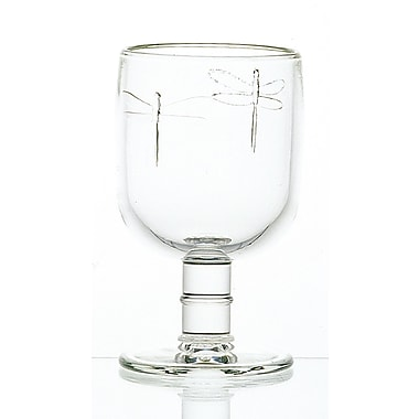 La Rochere Dragonfly Glass Goblet, 6/Pack