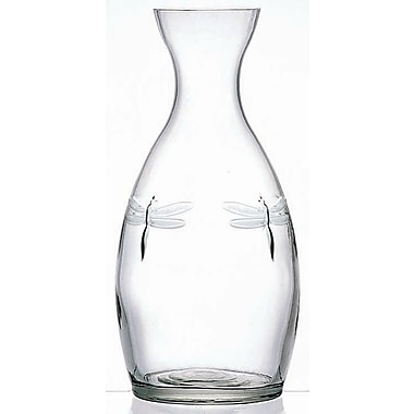 La Rochere Dragonfly Glass Country Carafe, 35 Oz