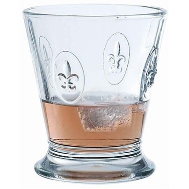 La Rochere Fleur De Lys Glass Tumbler, 9 Oz, 6/Pack