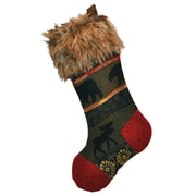Wooded River McWoods Christmas Stocking
