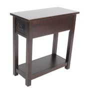 Alaterre Craftsman Chairside Table; Espresso