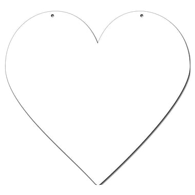 Magnetize Your Style Heart Magnetic Chalkboard