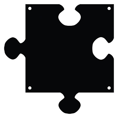 Magnetize Your Style Puzzle Piece Magnetic Chalkboard