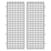 Thunder Group Inc. Security Cage Side Panel (Set of 2); 59.84'' H x 23.23'' W x 1'' D