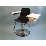 Brandt Industries Hydraulically Adjustable Blood Drawing Chair w/ Drawer