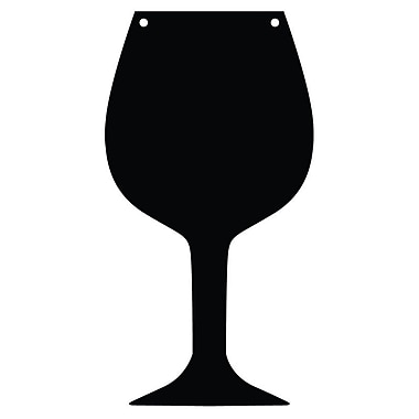 Magnetize Your Style Wine Glass Magnetic Chalkboard