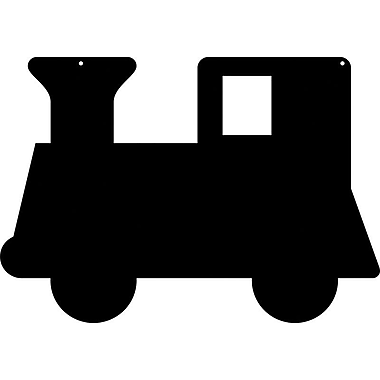 Magnetize Your Style Train Engine Magnetic Chalkboard