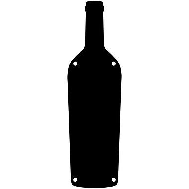 Magnetize Your Style Wine Bottle Magnetic Chalkboard