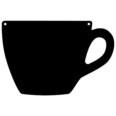 Magnetize Your Style Coffee Cup Magnetic Chalkboard