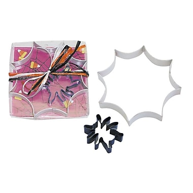 R & M International Corp. 2 Piece Spider Web Cookie Cutter Set