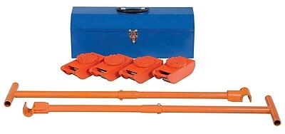 Vestil 2000 lb. Capacity Machine Roller Kit