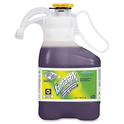 Fantastik Ultra All-purpose Cleaner - Concentrate Liquid Solution - 0.37 gal (47.34 fl oz) - 2 / Pack - Purple