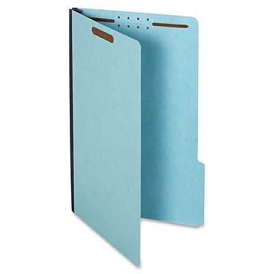 Globe Weis Pressboard Expanding File Folder With Fasteners,Legal,8 1/2
