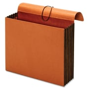 Globe-Weis Expanding W File Folder Wallet, Letter, 1200 Sheet Capacity, Brown, Recycled, 1 Each (PFX73186)