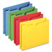 "Globe-Weis Colored File Jacket, Letter, 400 Sheet Capacity, 2"" Exp  11 pt. Folder Thickness, Asstorted Colors, 50 / Box"