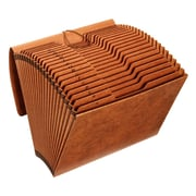 """Pendaflex High, Quality Expanding File with Flap, Legal, 8.50"""" x 14"""" Sheet Size, 21 Pocket(s), Brow"""
