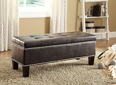 Woodhaven Hill Reverie Upholstered Storage Bench