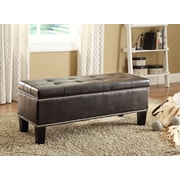 Woodhaven Hill Reverie Upholstered Storage Bedroom Bench