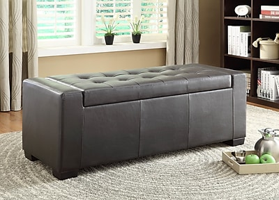 Woodhaven Hill Tigard Upholstered Storage Bench