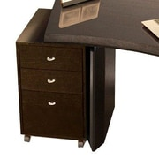 Sharelle Furnishings Bali 26.5'' H x 18'' W Desk File Pedestal