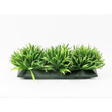 Creative Branch Faux Rye Grass in Ceramic Planter
