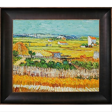 Tori Home The Harvest by Vincent Van Gogh Framed Painting