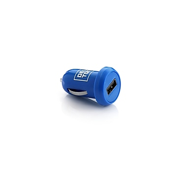 Delton 2PC Micro USB Car Charger Blue
