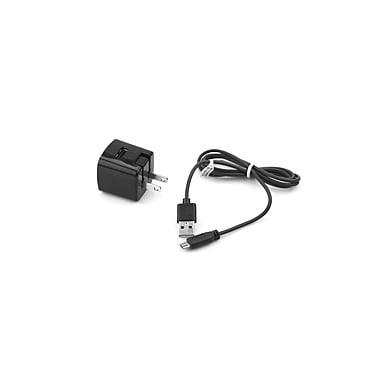 Delton 2PC Micro USB Wall Charger Black