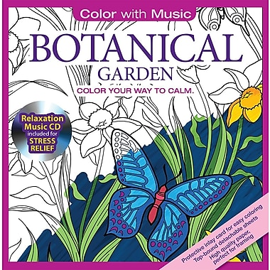 Color With Music Adult Colouring Book Botanical Garden From Mystic Sea 48